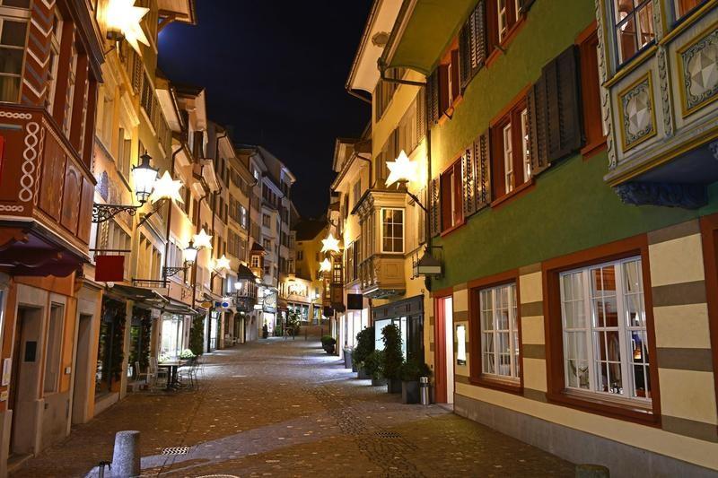 Old town in Zurich