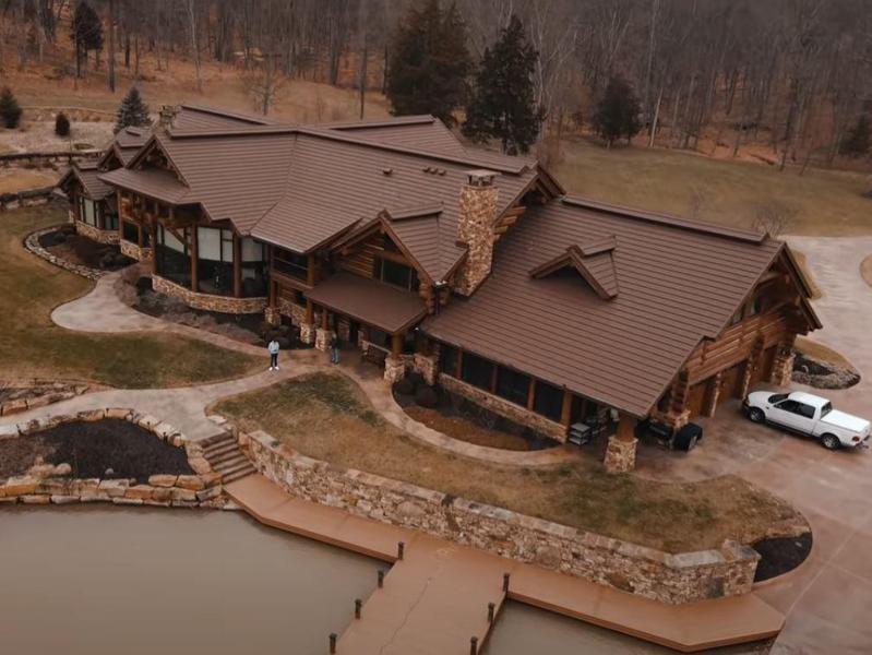 Tony Stewart's ranch