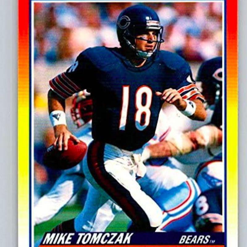 Mike Tomczak running