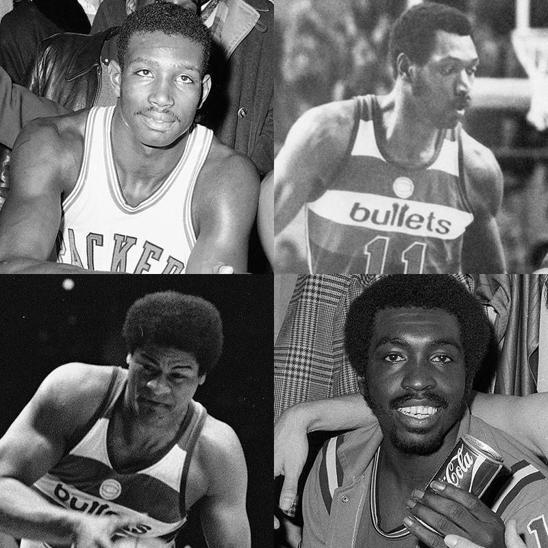 Walt Bellamy, Elvin Hayes, Earl Monroe, Wes Unseld