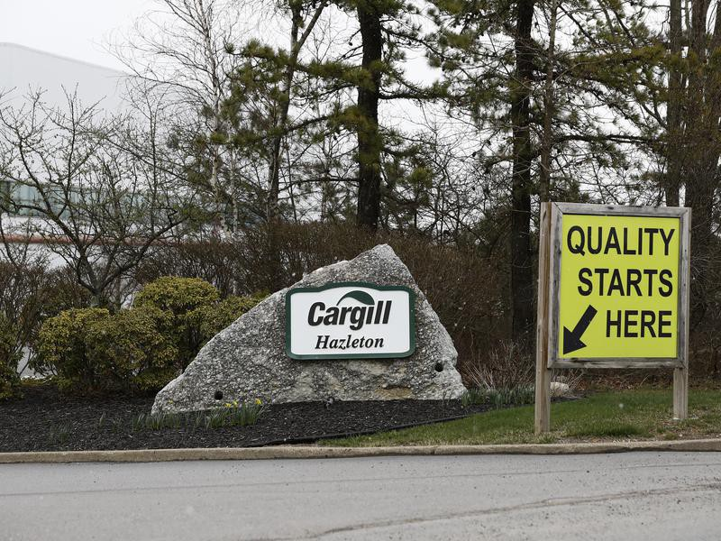 Cargill Meat Solutions plant exterior