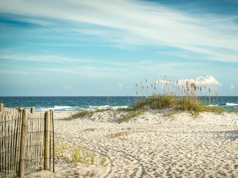 Dunes in Wrightsville Beach, North Carolina
