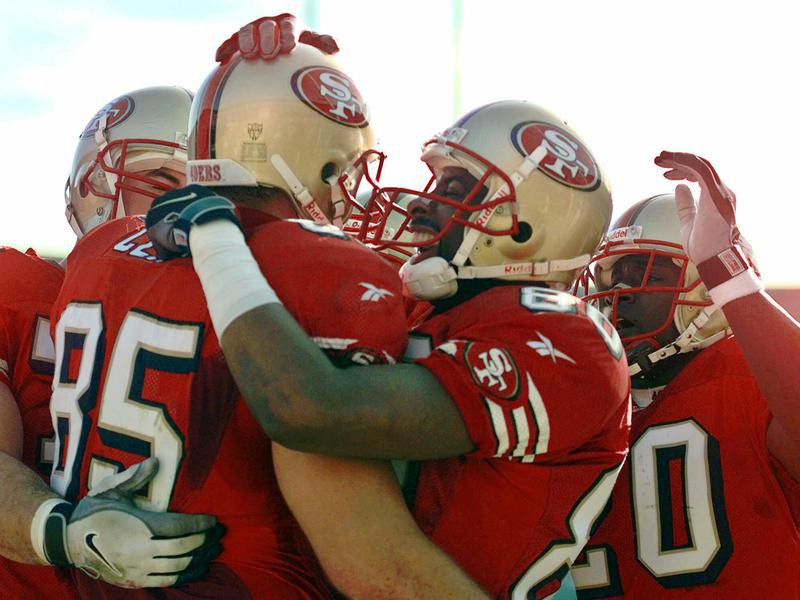 Jerry Rice and the 49ers
