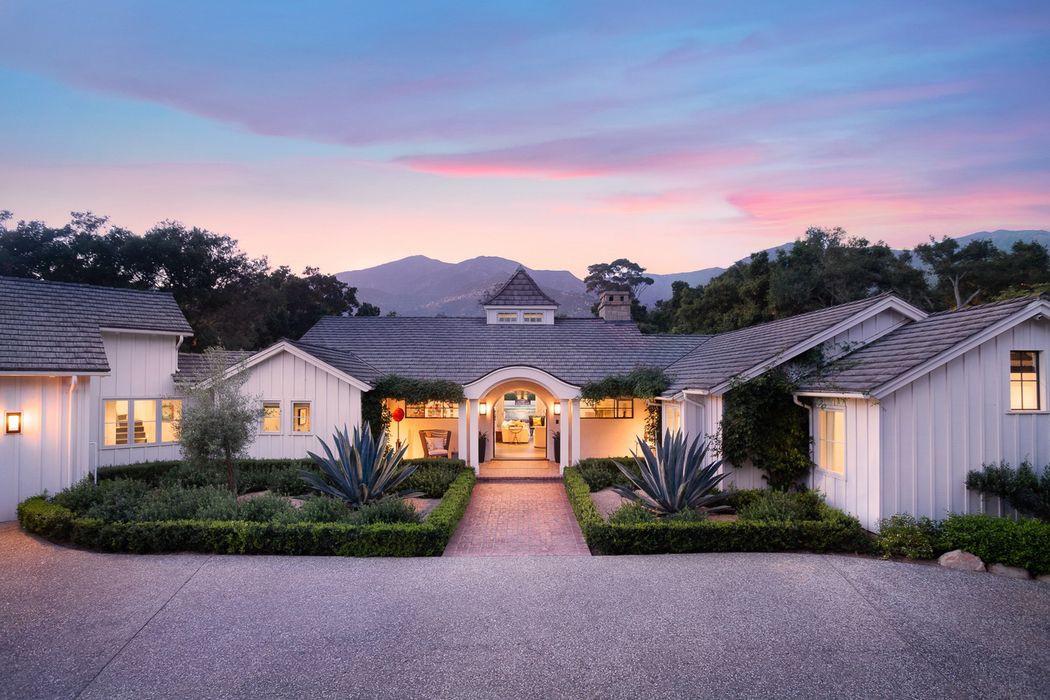 Meg Ryan's Montecito farmhouse