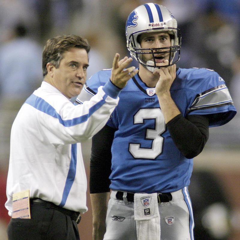 Joey Harrington talks to Steve Mariucci