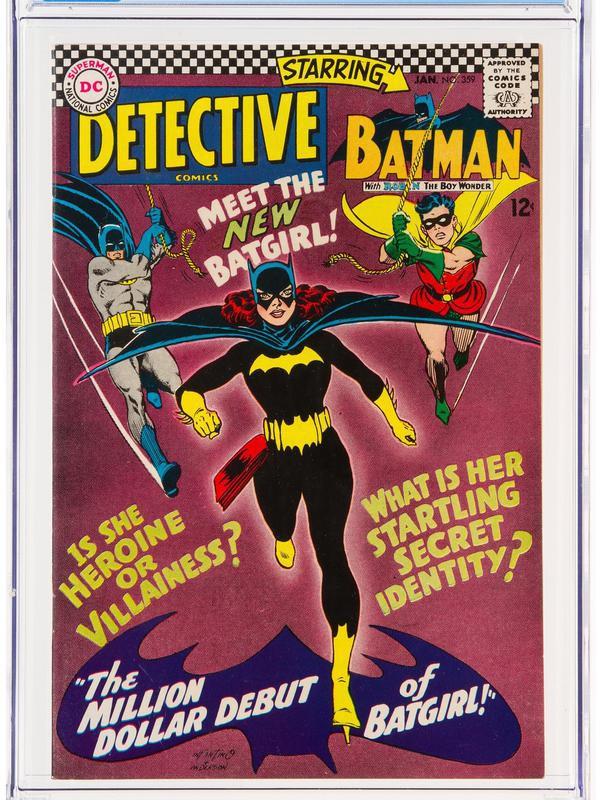 Batgirl debut comic