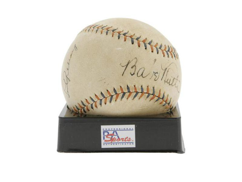 Babe Ruth ball