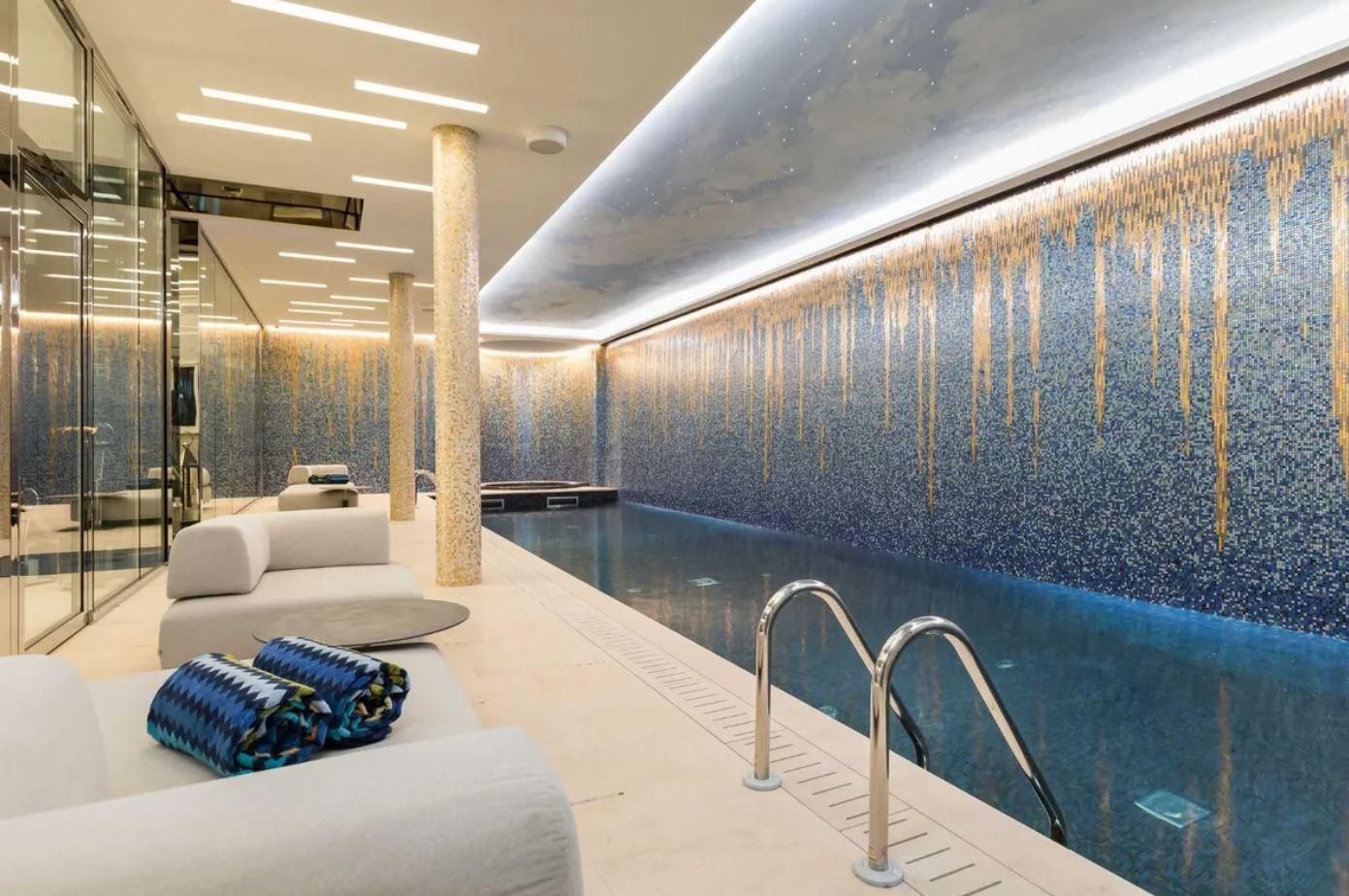 Indoor luxury pool