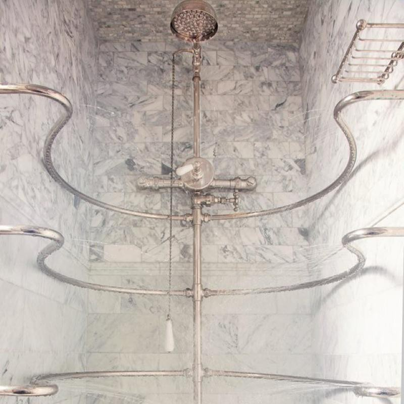 Needle or ribcage shower