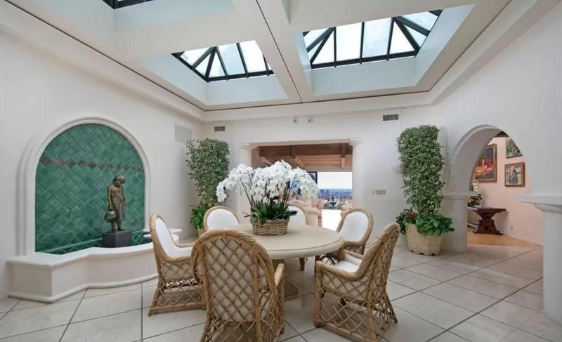 LeBron James' mansion in Beverly HIlls
