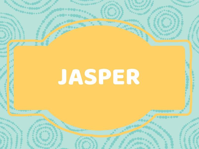 'J' Baby Boy Names: Jasper