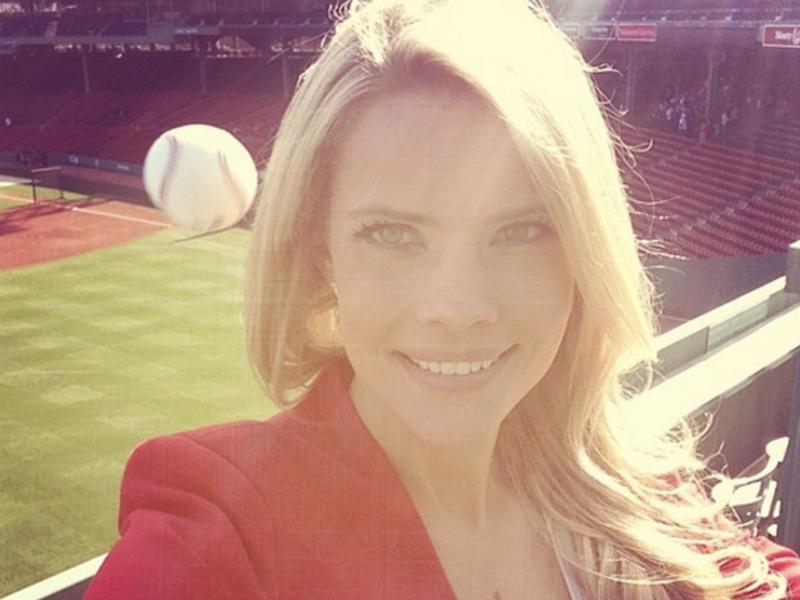 Baseball selfie