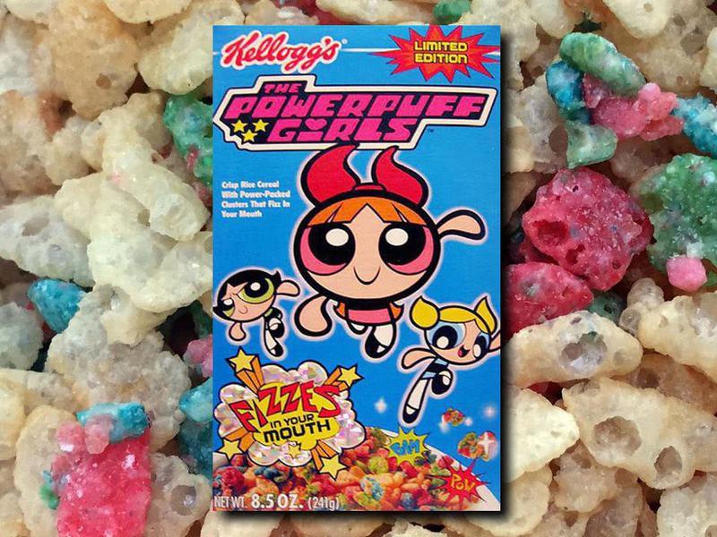 Powerpuff Girls Cereal