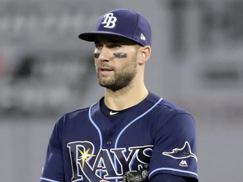 Tampa Bay Rays left fielder Tommy Pham