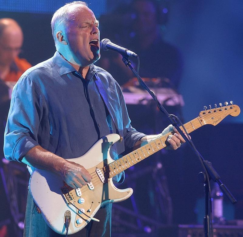 David Gilmour in 2004