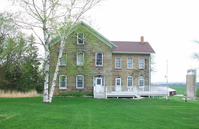 Home in Mineral Point, Wisconsin