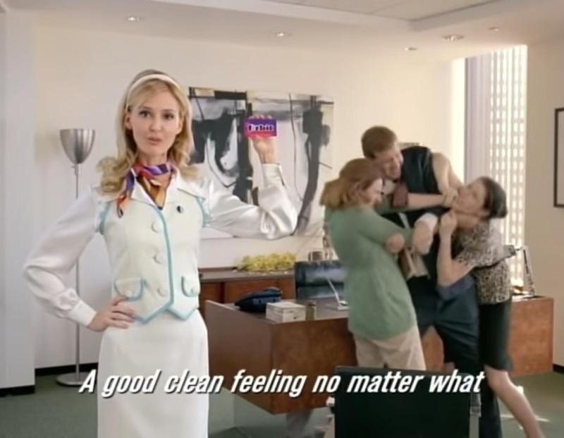 Orbit Gum commercial