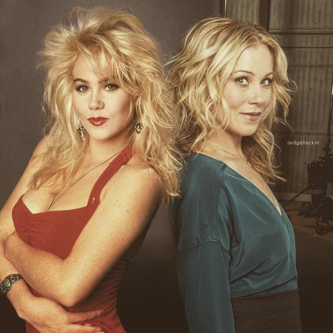 Christina Applegate and Kelly Bundy