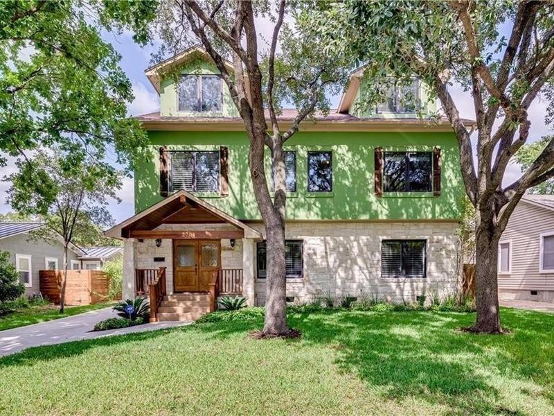 Craftsman house in Austin, Texas