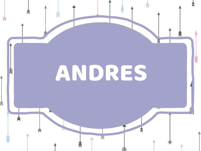 Unique Baby Boy Names: Andres