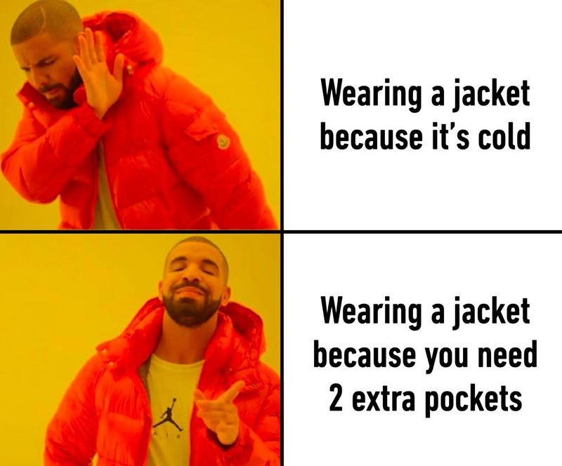 Drake wearing a jacket
