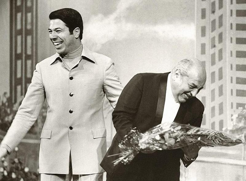 Silvio Santos and Manoel da Nóbrega