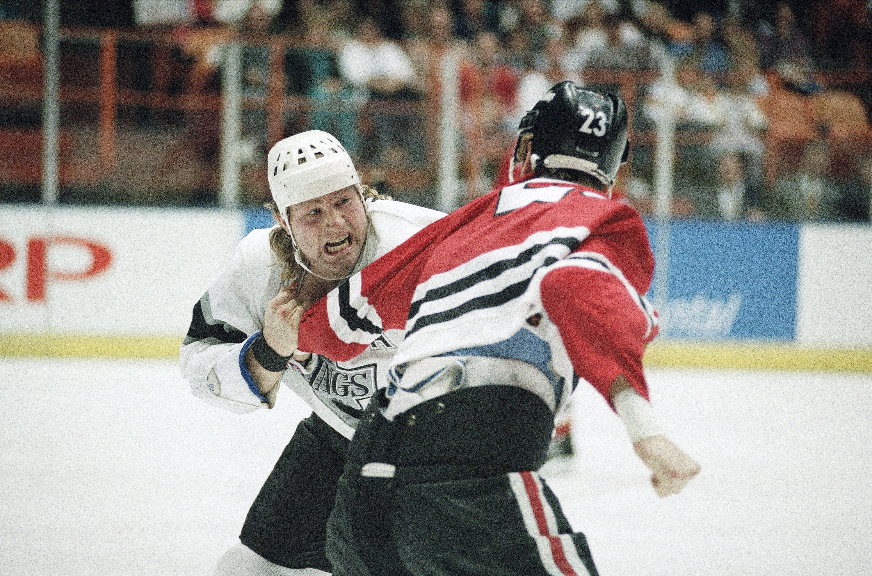 Los Angeles King Marty McSorley