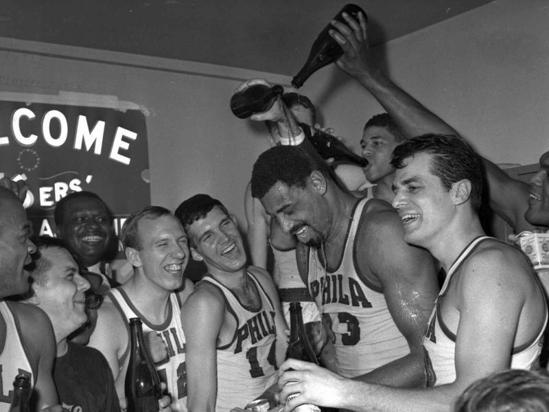 Wilt Chamberlain and the 1966-1967 76ers