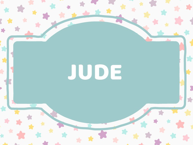 J Name Ideas: Jude