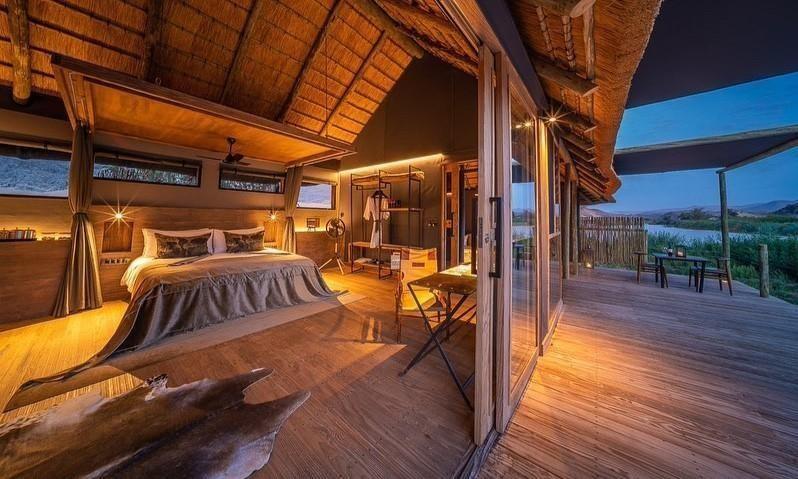 Eco luxury safari in Namibia