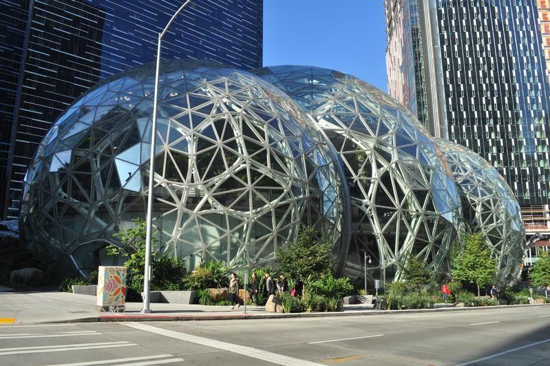 Amazon spheres in Washington