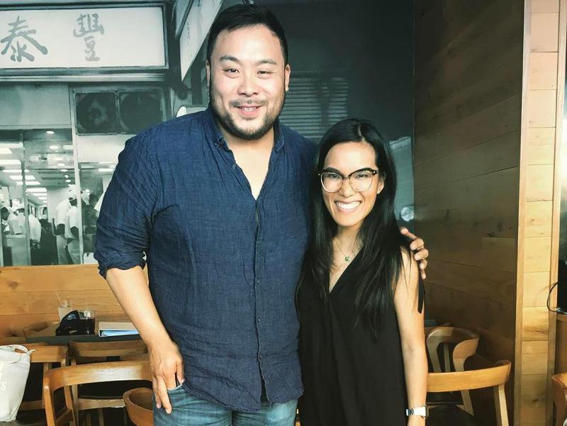 David Chang & Comedian Ali Wong