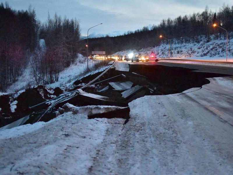 Alaska Earthquake Damage