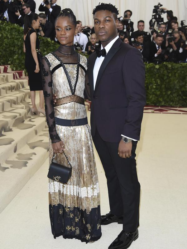 Letitia Wright & John Boyega