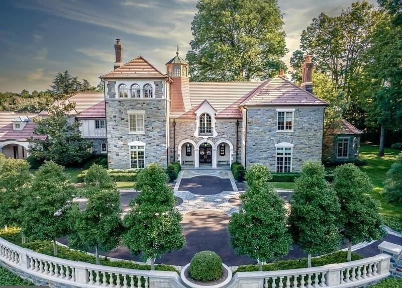 Mansion in Villanova, Pennsylvania