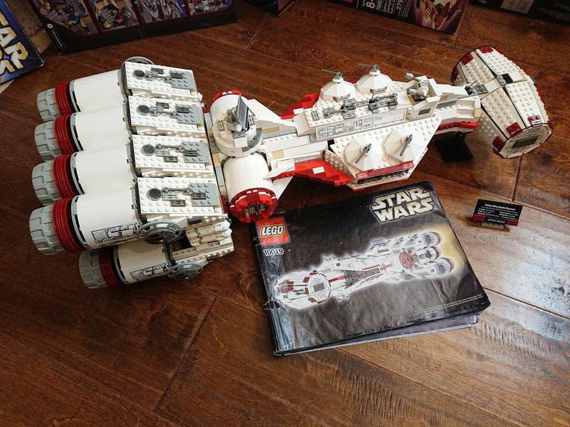 Rebel Blockade Runner UCS Lego