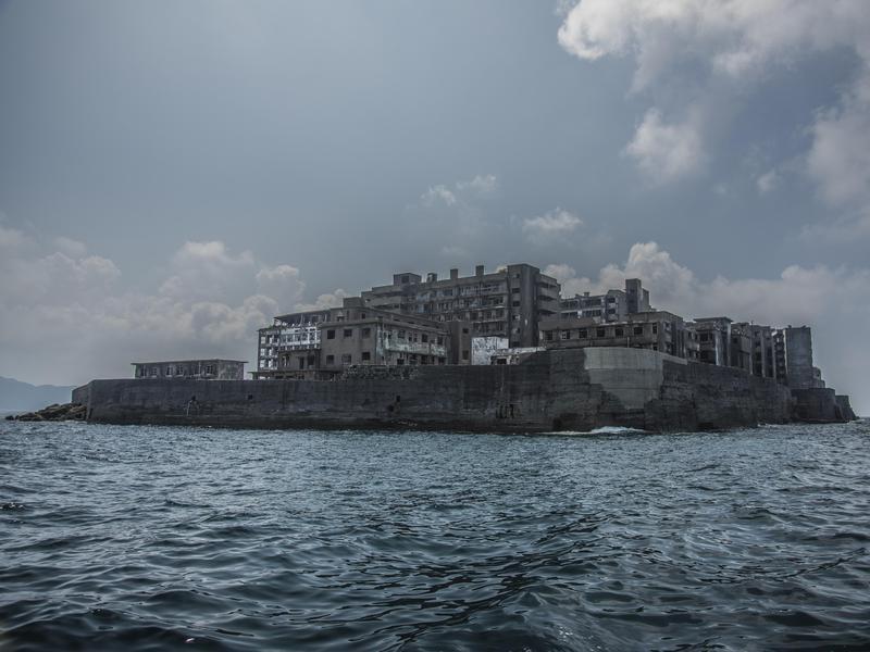 Haunted Hashima Island, Japan