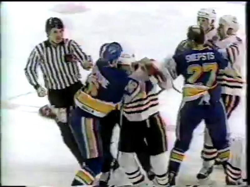 Chicago Blackhawks and St. Louis Blues.
