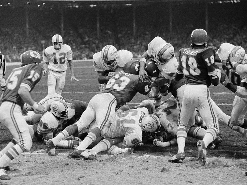 1971 Miami Dolphins-Kansas City Chiefs