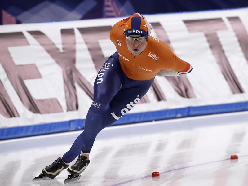 Sven Kramer of the Netherlands