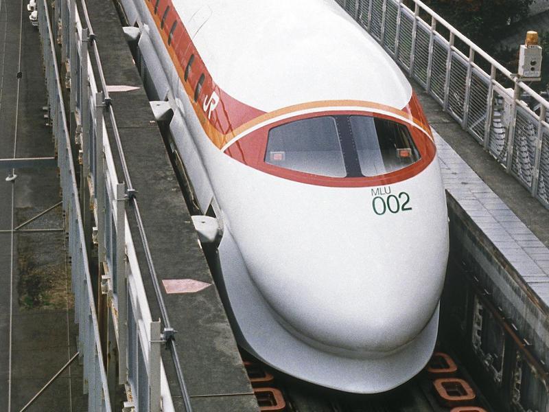 Japanese bullet train Hikari
