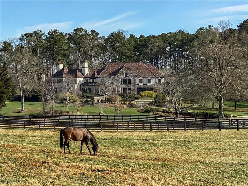 Dwayne Johnson's home in Georgia