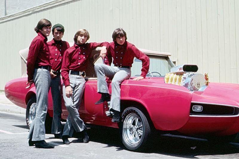 6. 1966 Pontiac GTO, AKA the Monkeemobile