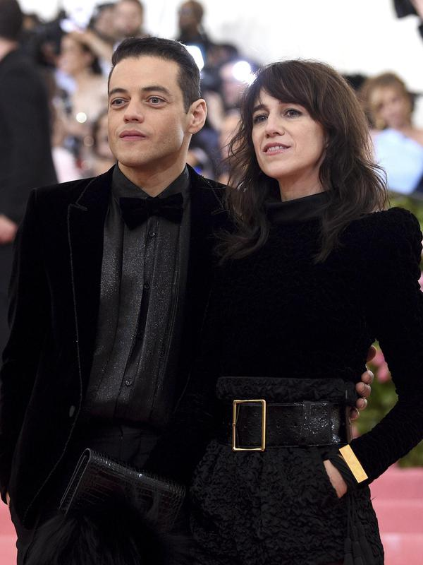 Rami Malek and Charlotte Gainsbourg