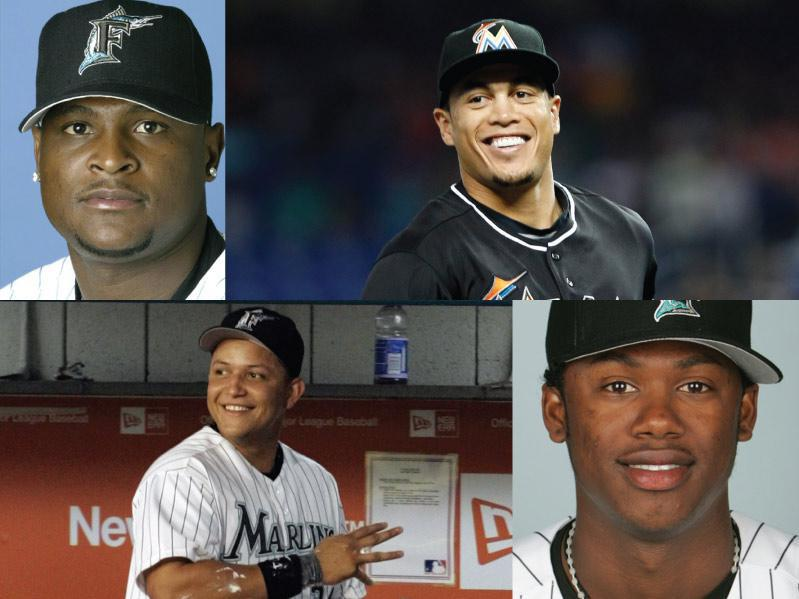 Florida/Miami Marlins Mount Rushmore