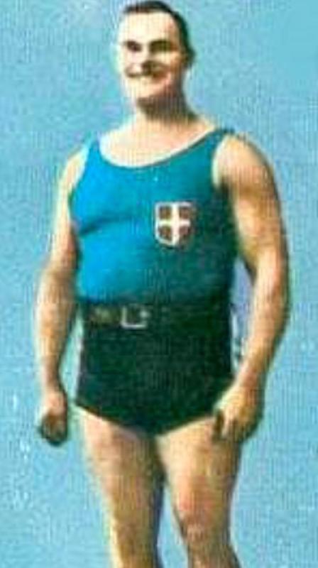 Giuseppe Tonani, Olympic weightlifter