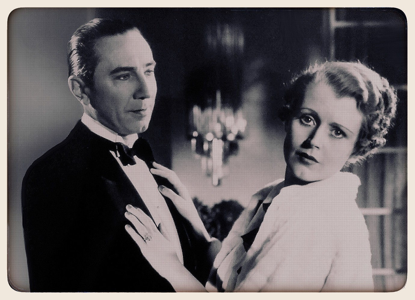 """Bella Lugosi and June Collyer in """"Murder by Television"""""""