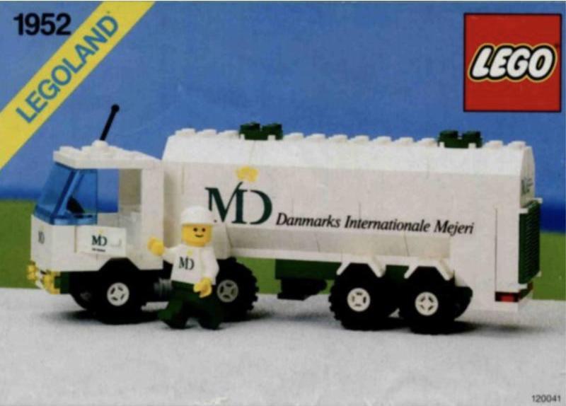Milk Truck Dairy Tanker