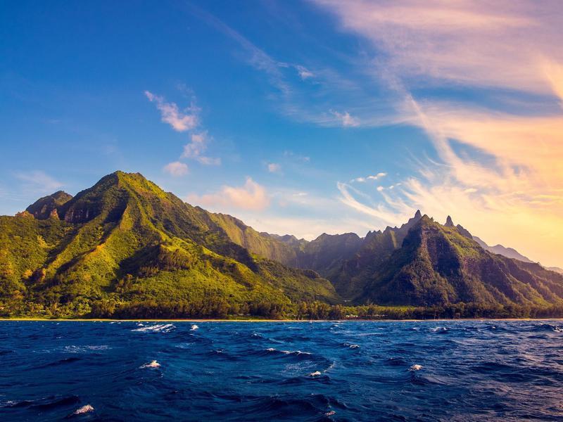 Na Pali Coastline - Kauai