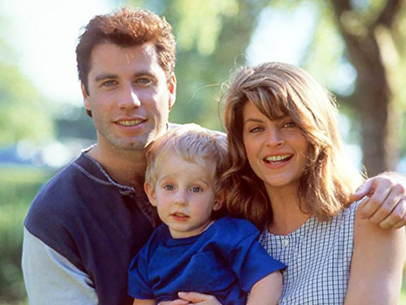John Travolta, Kirstie Alley, and Jacob Haines in Look Who's Talking (1989)